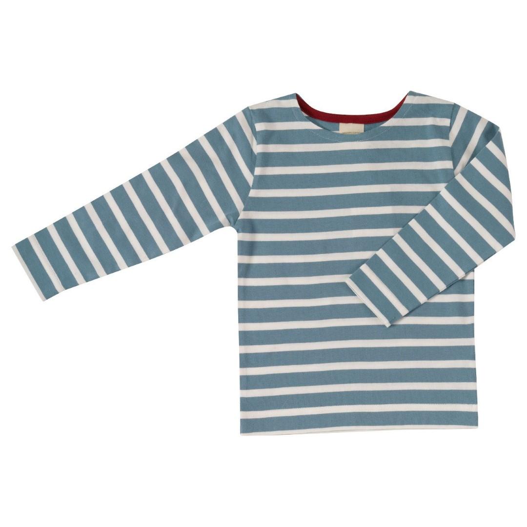 Οργανική παιδική μπλούζα μπλε ριγέ Pigeon - Mamasaid.gr 62b175b25bd