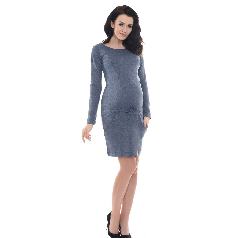 ... Mamas Pregnancy and nursing dress with pockets Purpless. 🔍 -50%.  Previous  Next 1aa4317d018