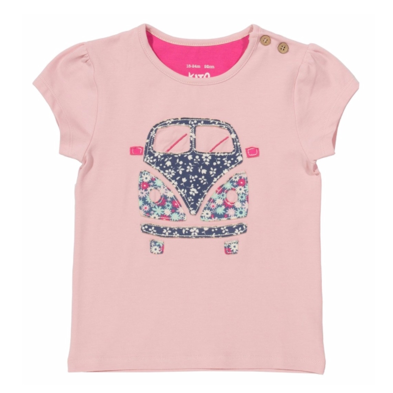 Kite Clothing Kids Organic Cotton Top Camper Van