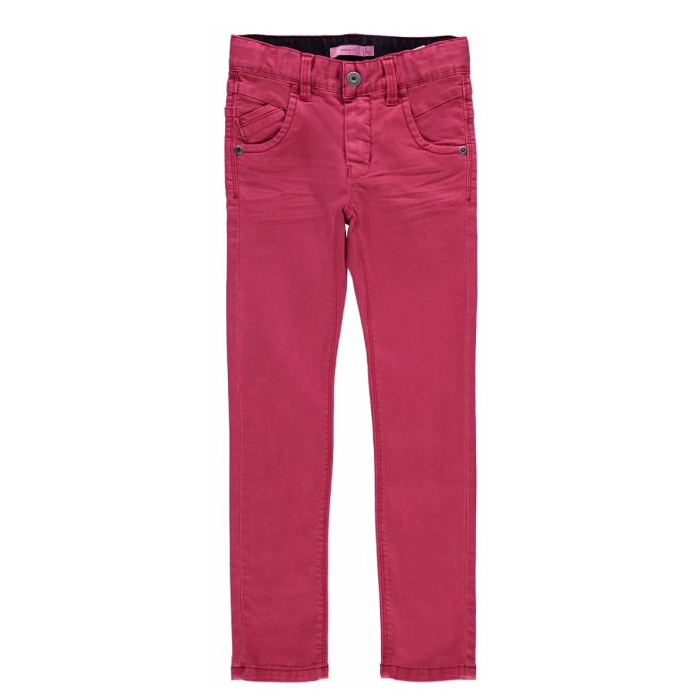 4c17a7b946a ... κορίτσια/Παντελόνια/Βερμούδες/Παιδικό παντελόνι κόκκινο ξεβαμμένο στενή  γραμμή Name It. 🔍. Previous; Next