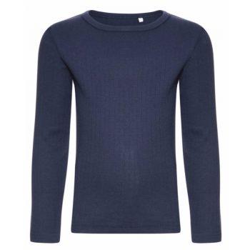 Μακρυμάνικη μπλούζα οργανική αγόρι μπλε Name It eadf3ade2f7