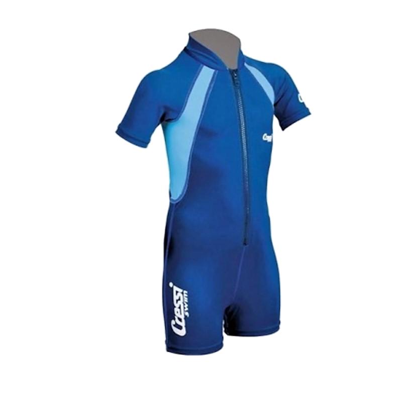 cda22166065 Στολή κολύβησης παιδική kids shorty μπλε Cressi