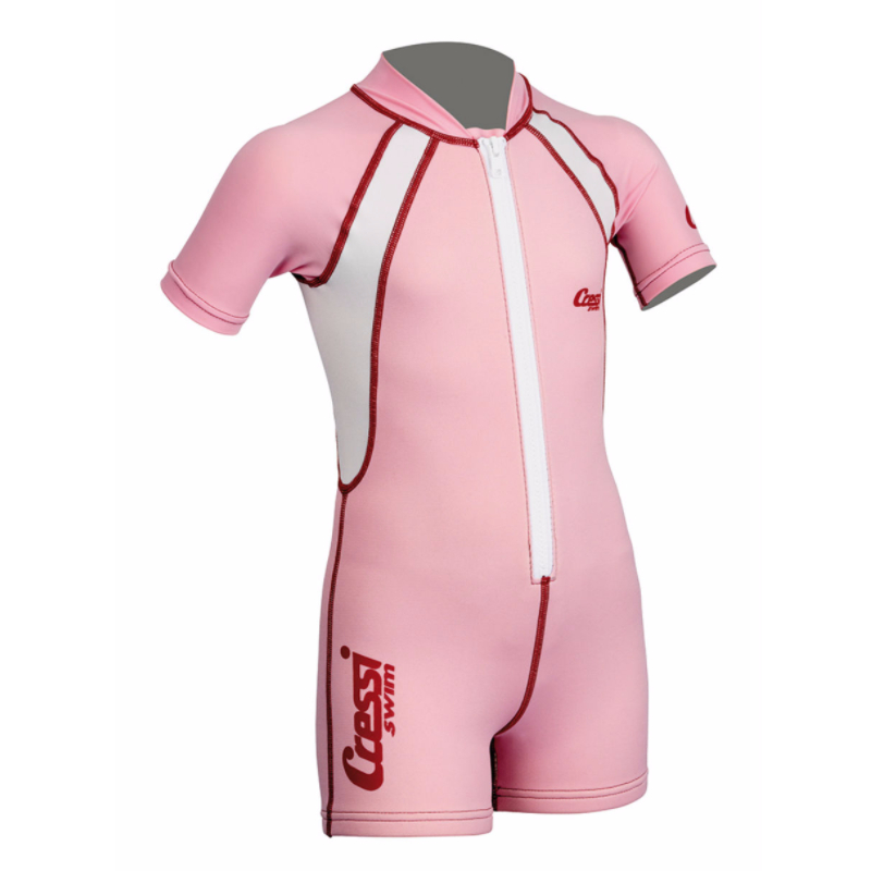 0c9683e69ba Στολή κολύβησης παιδική kids shorty ροζ Cressi
