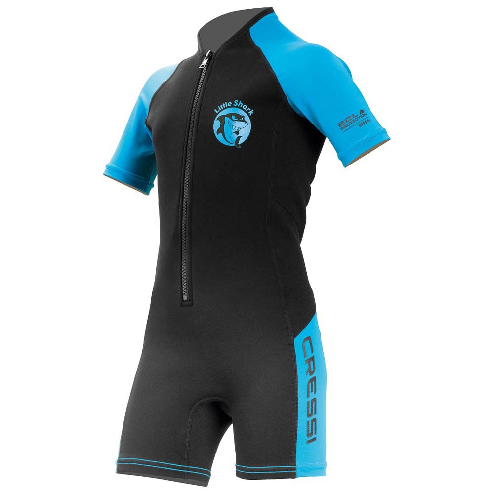 4cf1385af4e Στολή κολύβησης παιδική little shark μαύρη/μπλε Cressi