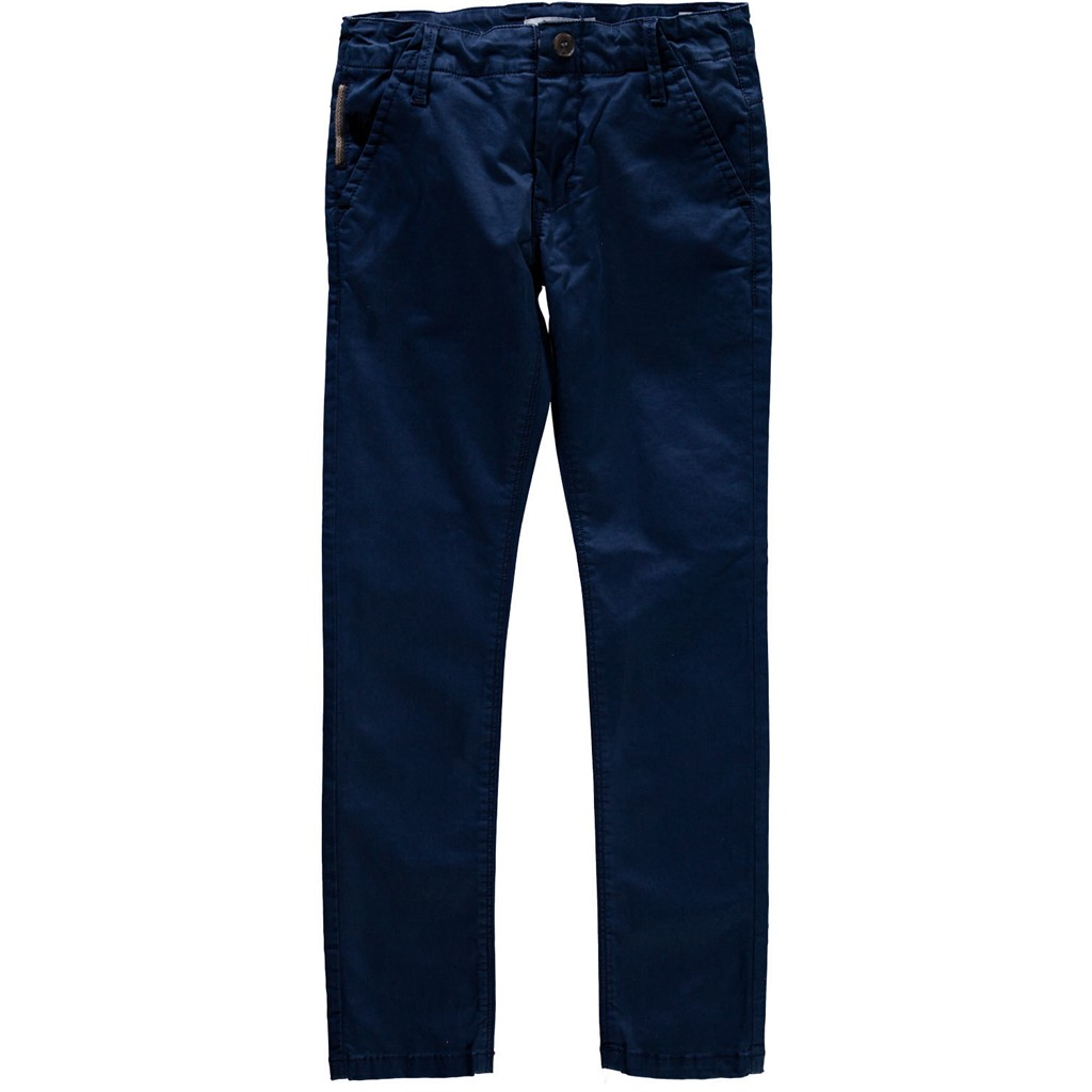Παιδικό παντελόνι chino μπλε αγόρι Name It - Mamasaid.gr 6e87ea88402