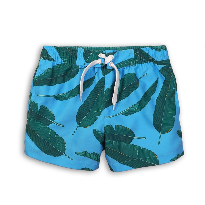 f62d7544354 Παιδικό μαγιό σορτς πράσινα φύλλα Minoti - Mamasaid.gr