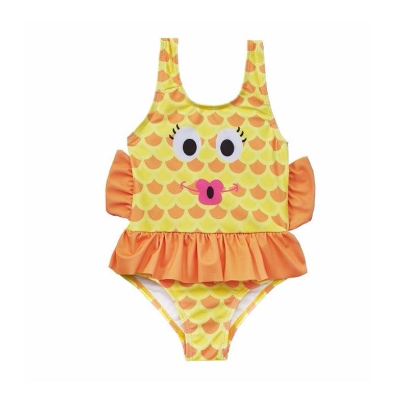 32181e51668 Παιδικό μαγιό κίτρινο ψαράκι Baby Town - Mamasaid.gr